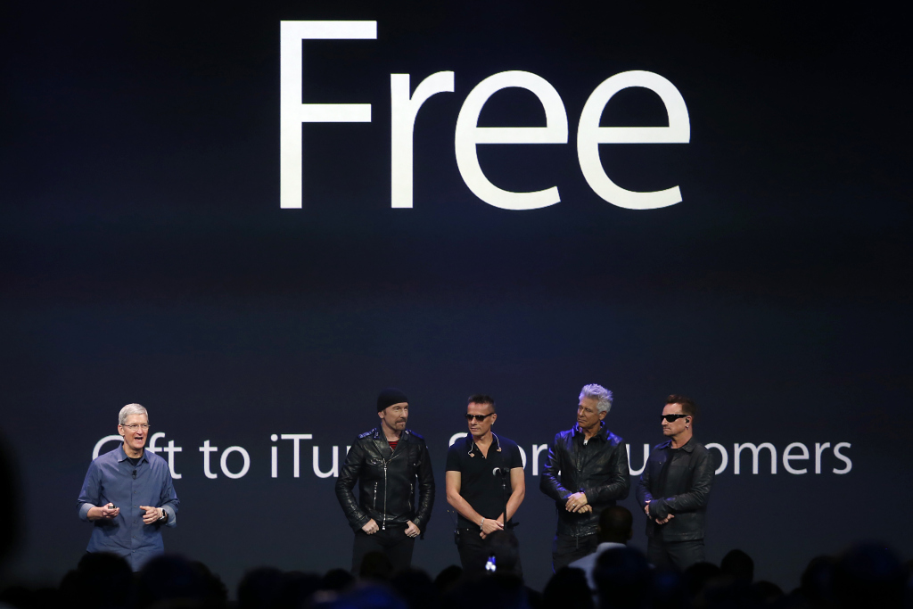 Apple Paid $100 Million for U2's Free Album and Upcoming Marketing Campaign