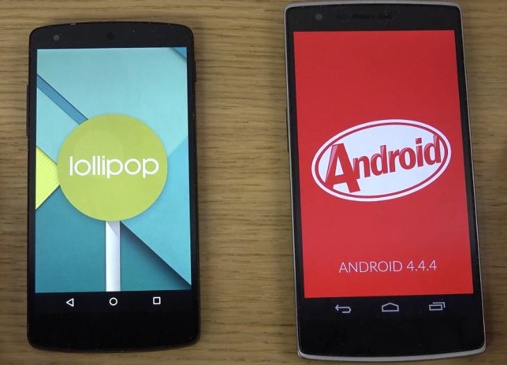 Android KitKat vs Android Lollipop – Which OS Candy Tastes Sweeter?
