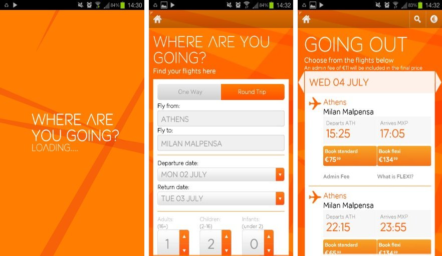 Easyjet No Turbulence While Booking Flight Tickets One