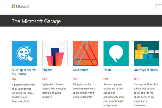 Microsoft Attempts to Improve Android With New 'Garage' Apps