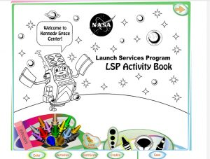 LSP Activity Book – Because NASA Needs Us As Much As We Need It