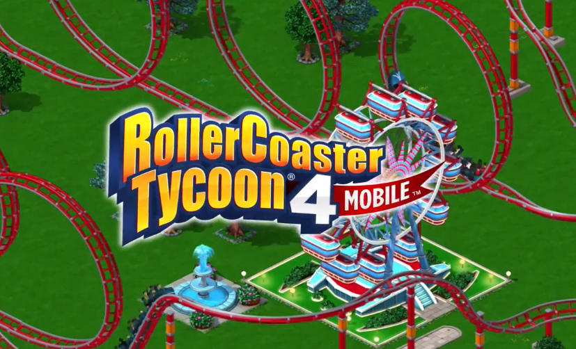 Free Roller Coaster Tycoon 4 Finally Released for Android