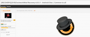 Android One Phones Rooted, Get Custom Recovery