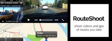 RouteShoot Video and GPS – Visual Elegance At The Touch Of A Button