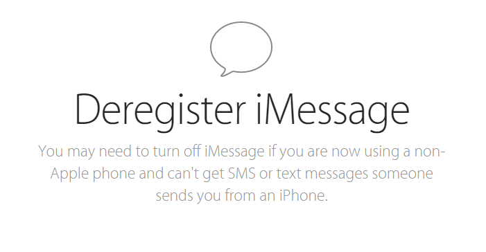 Apple Finally Releases Tool Allowing Users to De-Register