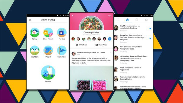 Facebook Introduces New Groups App for Android and iOS