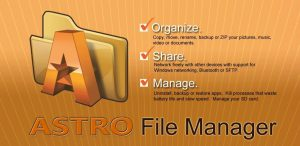 Astro File Manager with Cloud – High End Management Without Rooting