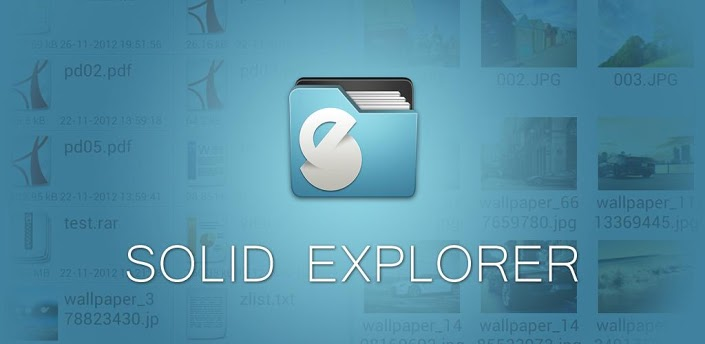 Solid Explorer File Manager – Mixing Beauty with Efficiency