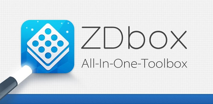 ZDbox – The All-In-One Toolbox for Your Android Device