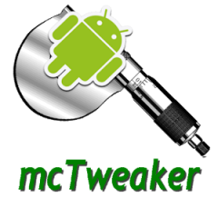 mcTweaker –  Optimize Your Android's Performance Standards
