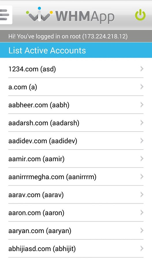 WHM App for Root and Reseller 2