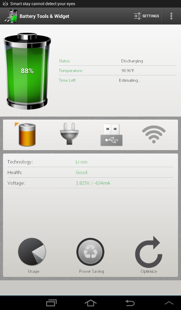 Battery Tools and Widget Android 2