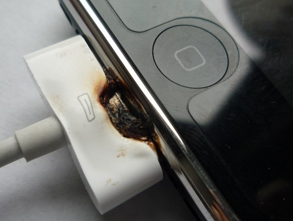 charger fire