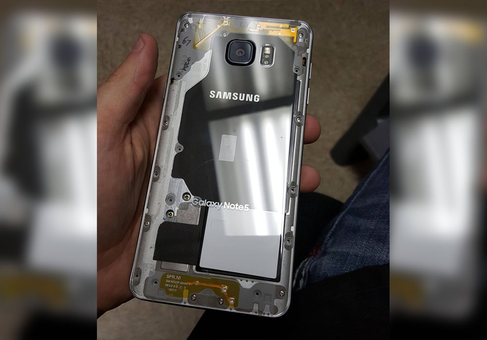 How to Get a Clear Galaxy Note 5 Case Without Buying Any Accessories