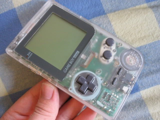 clear gameboy