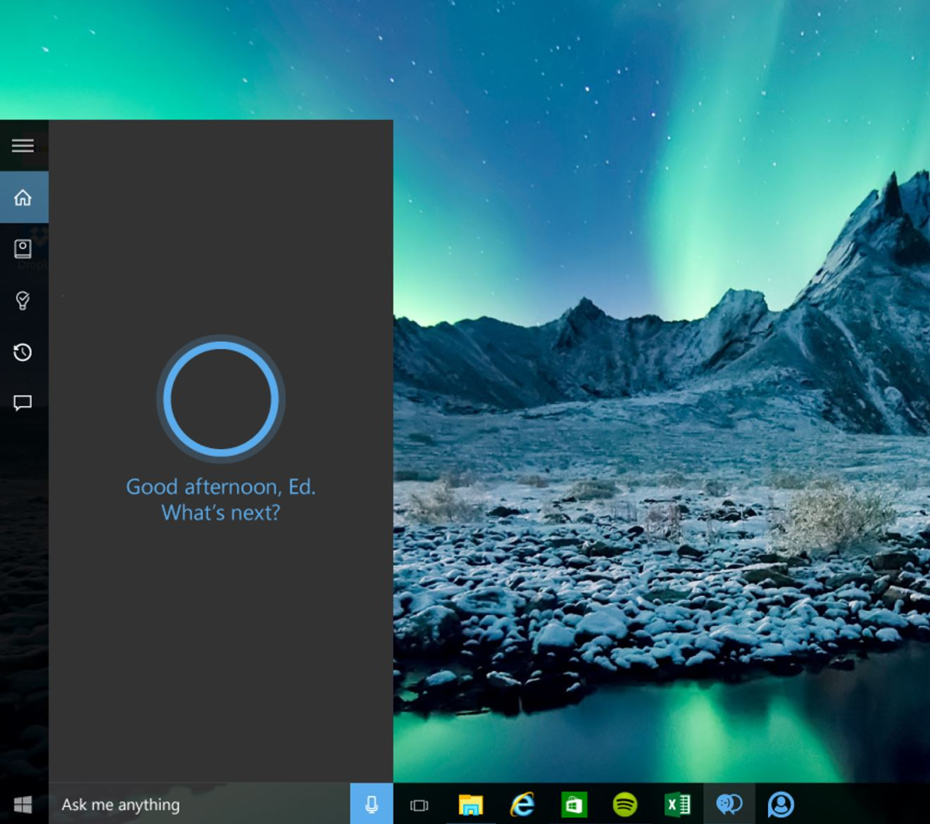 cortana windows 10 android