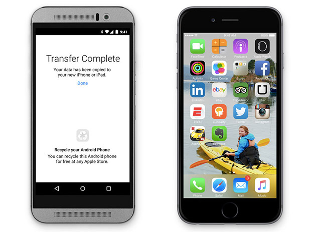 How to Easily Transfer Data from Android to iOS