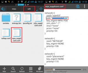 How to View Saved Wi-Fi Passwords in Android