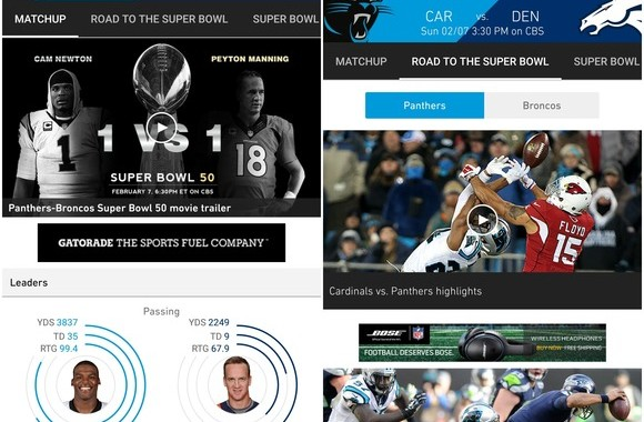 superbowl 50 android app