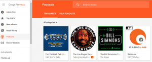 Google Adds Podcasts to Google Play Music