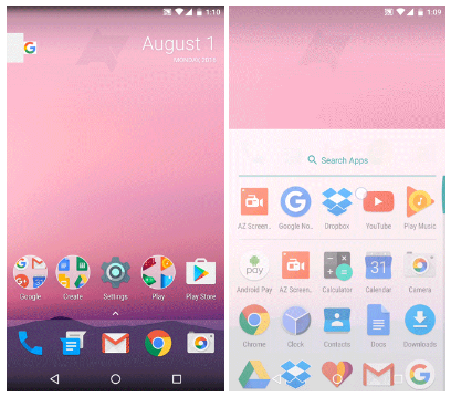 Check out Google's New Nexus Launcher Possibly Coming on the 2016 Nexus Phones