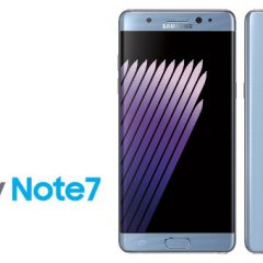 All 2.5 Million Galaxy Note 7 Units Recalled Due to Battery Fire Problems