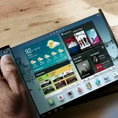 Rumor: Samsung Will Release the First Foldable Smartphone in Q4 2017