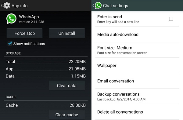 5 Fast Ways to Troubleshoot WhatsApp Problems   One Click Root