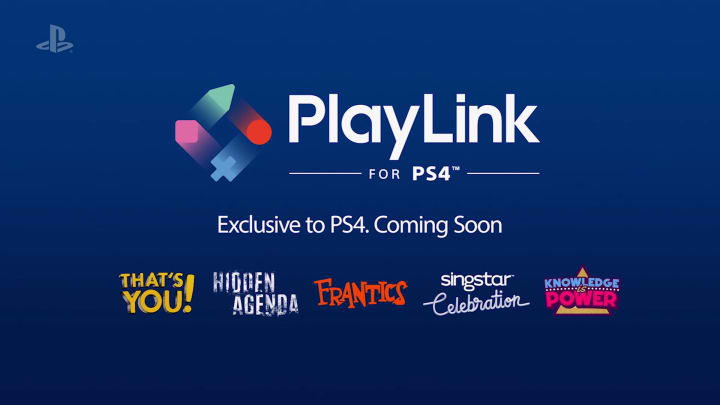 Sony's New PlayLink Brings Mobile Madness to a Whole New Level: Games for iOS and Android Smartphones