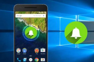 Android Notifications  to Sync with  Windows 10