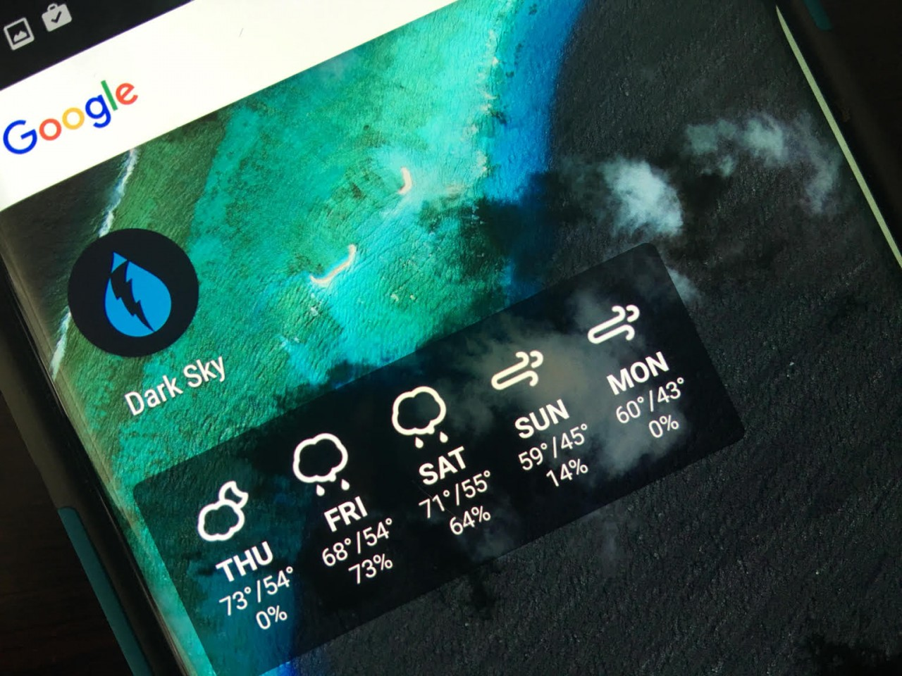 Always be Weather-Ready with Dark Sky Weather App