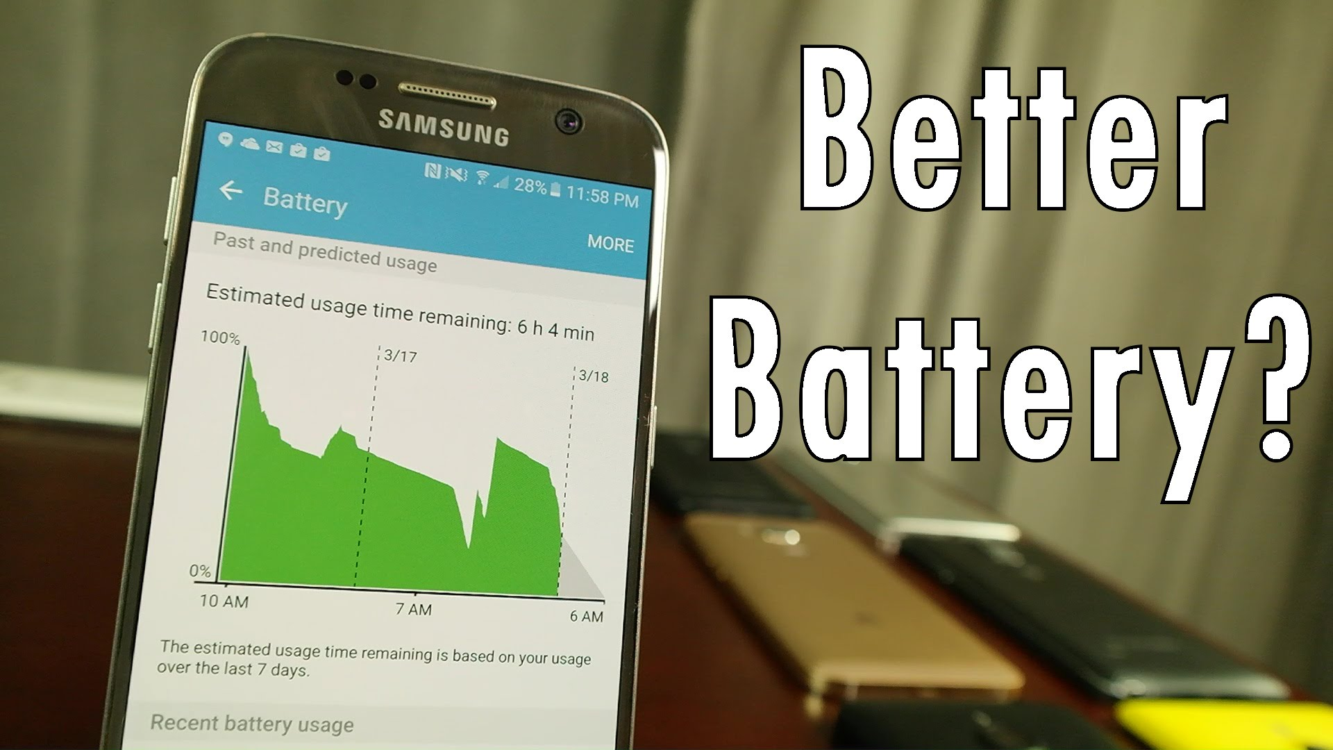 Extending your Android phone's battery