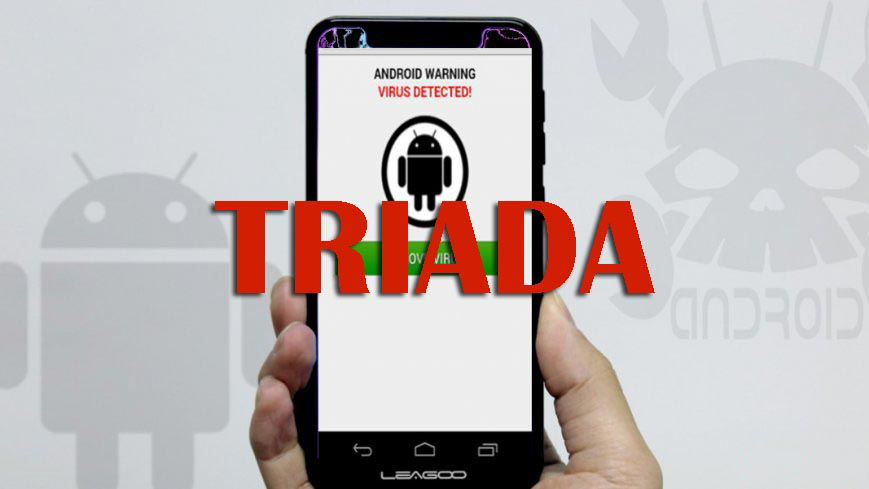 40 Low Cost Android Smartphones infected with Triada Banking Trojan