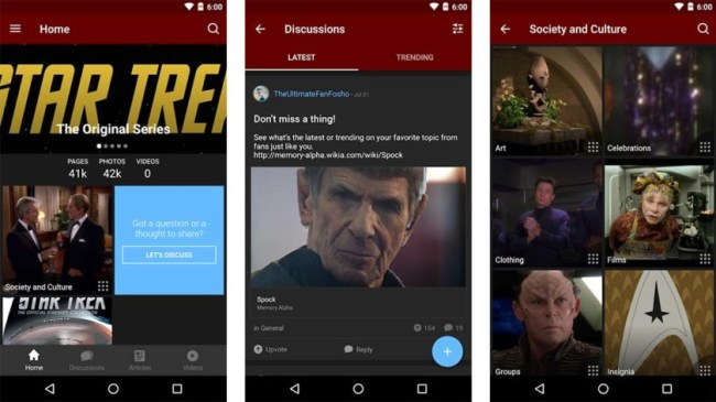 5 Best Star Trek apps on Android! Happy Anniversary Star Trek!