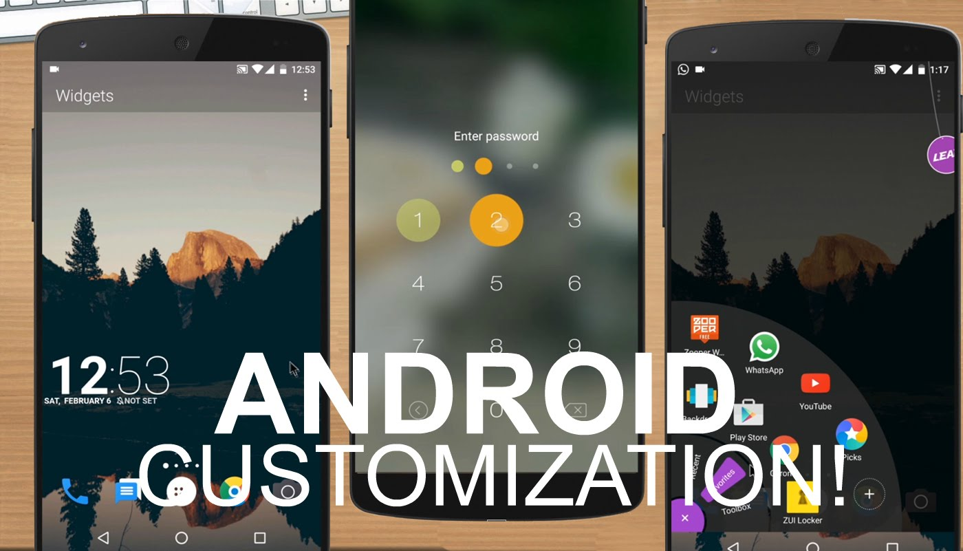 5 Best Android Apps to Customize Your Phone | One Click Root