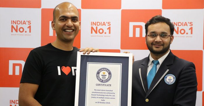 Wow! Xiaomi holds the Guinness World Record for most stores opened simultaneously