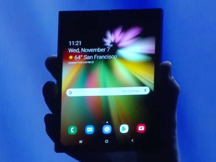 Samsung finally unveils the Samsung Galaxy Fold and should arrive in the market by Q2 2019