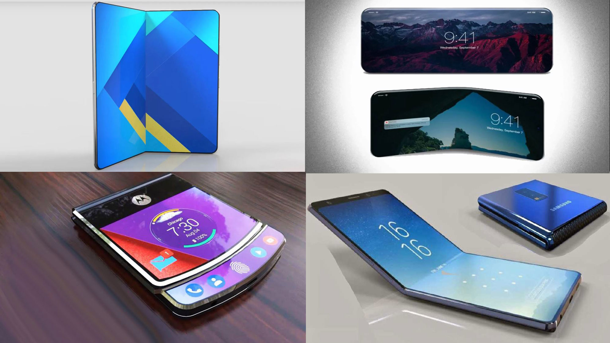 All the Announced Foldable Phones in 2019