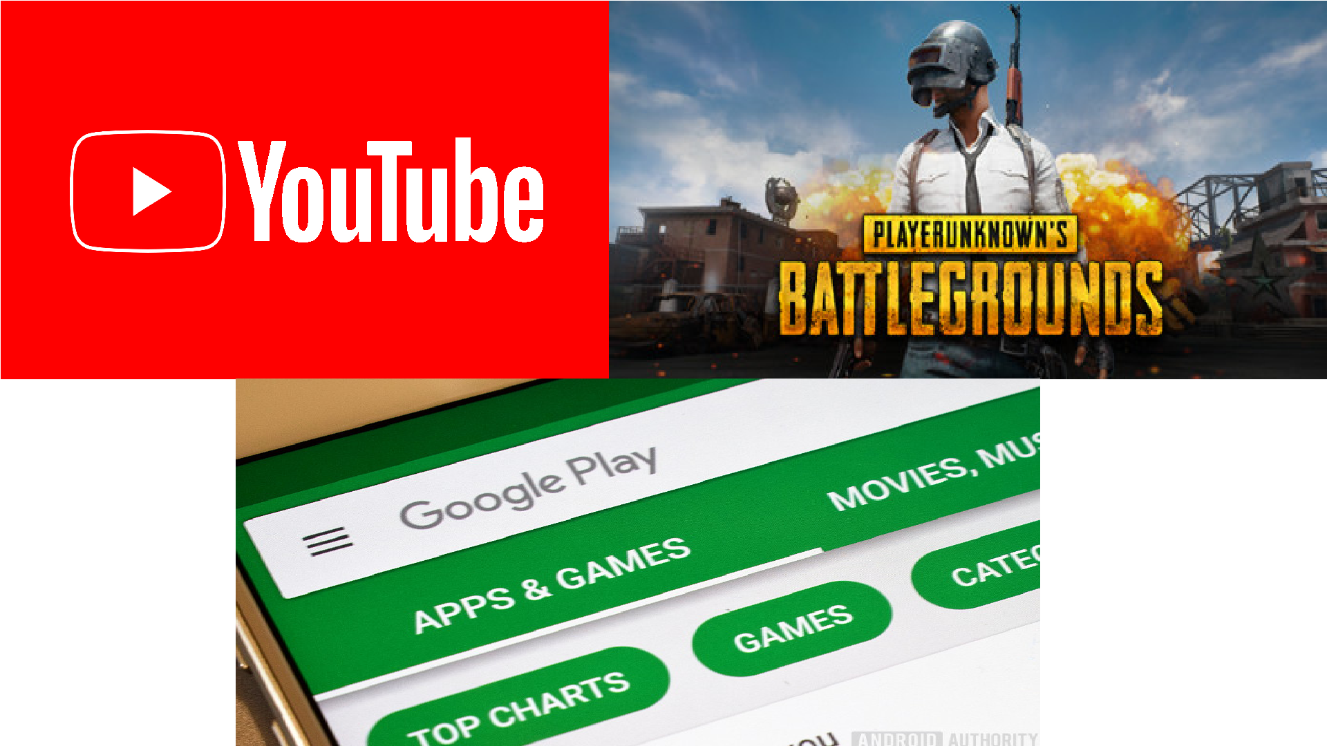What's new on your favorite apps: YouTube, PUBG, Google Play Store