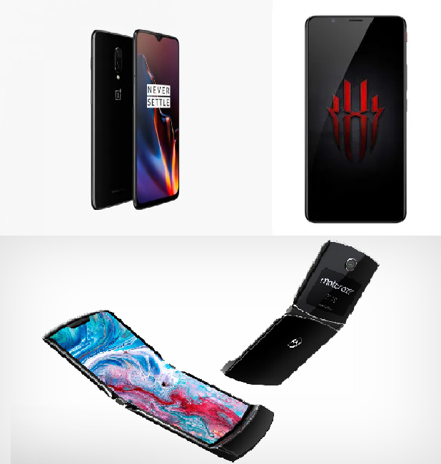 Upcoming Android Phones to look out for – Motorola RAZR, OnePlus 7 Pro, and Nubia Red Magic 3