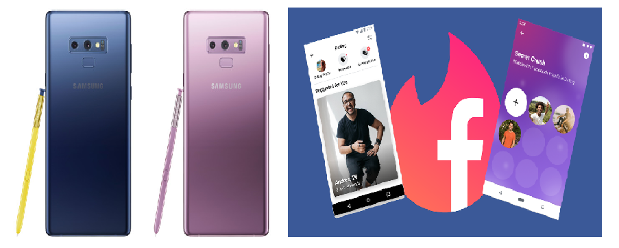 "Samsung Galaxy Note 9 gets a security update, while Facebook is having a ""Secret Crush"" update"