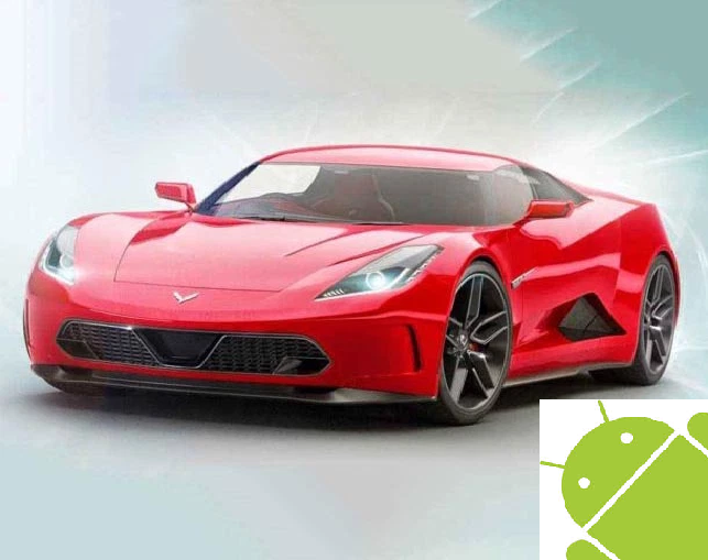 Chevrolet 2020 Corvette and Android merge into one to bring the future car we all dream
