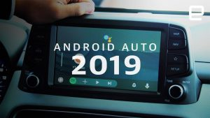 Here's the new Android Auto 2019 and it's faster, better, and dark