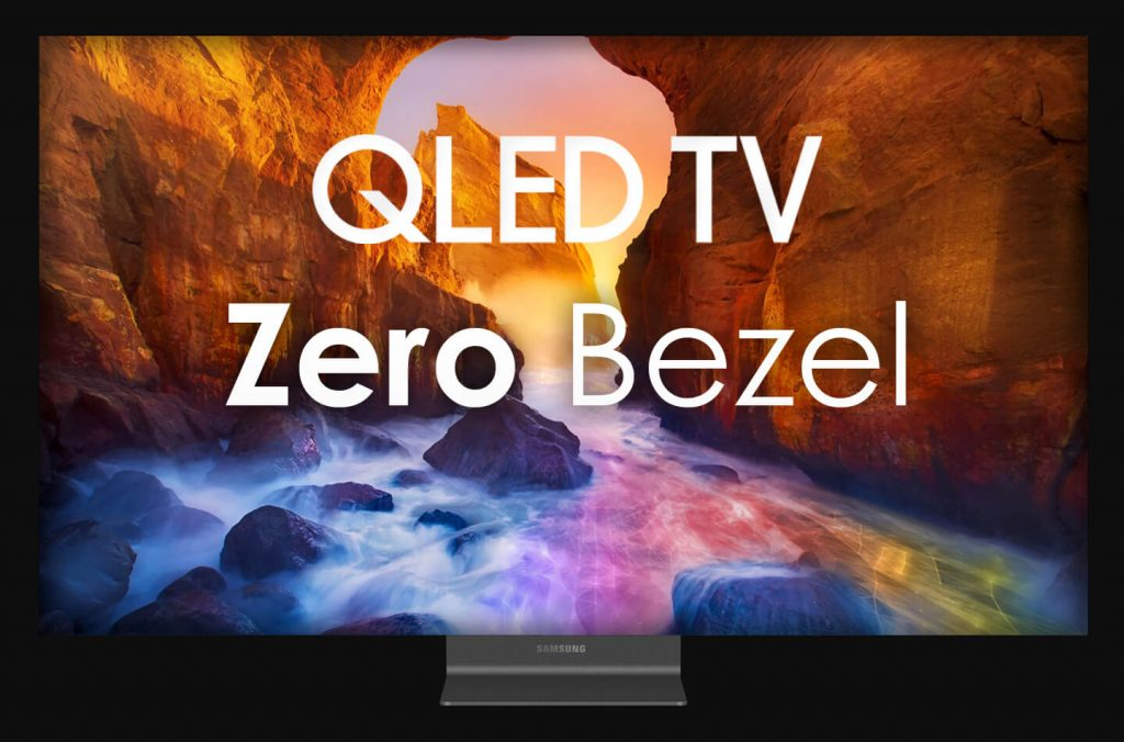 Samsung Zero Bezel QLED TV soon to launch at CES 2020
